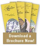 Stack of brochures - link to download a Brewster Inn brochure.